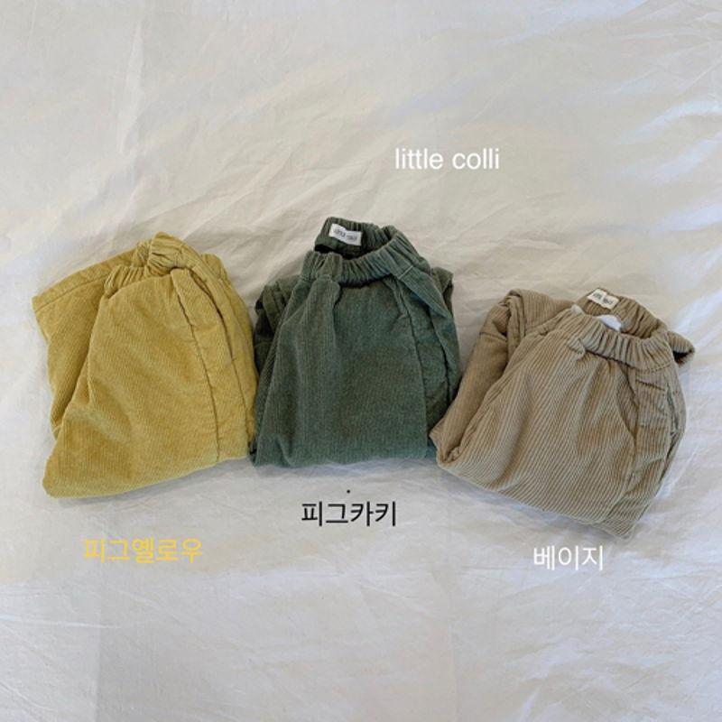LITTLE COLLI - Korean Children Fashion - #Kfashion4kids - Vivi Corduroy Pants