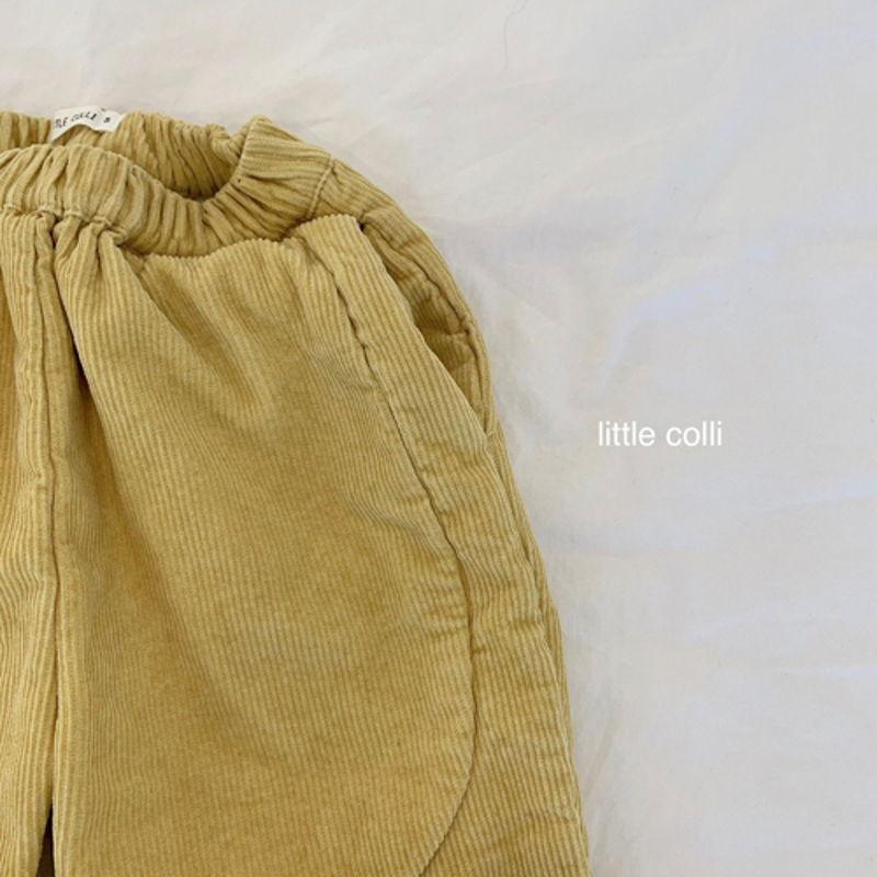 LITTLE COLLI - Korean Children Fashion - #Kfashion4kids - Vivi Corduroy Pants - 10