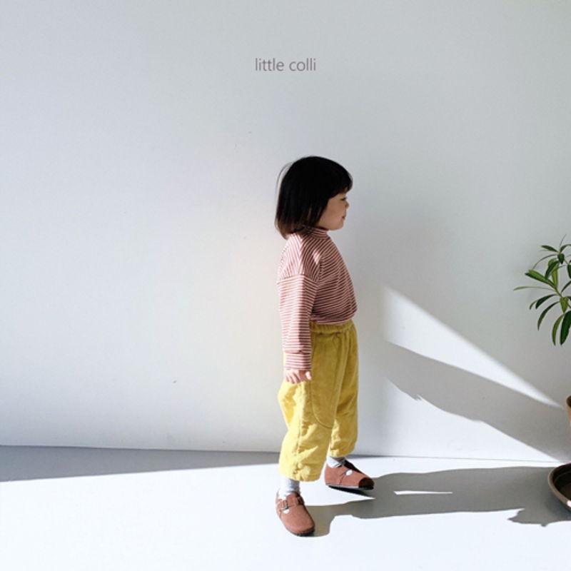 LITTLE COLLI - Korean Children Fashion - #Kfashion4kids - Vivi Corduroy Pants - 4