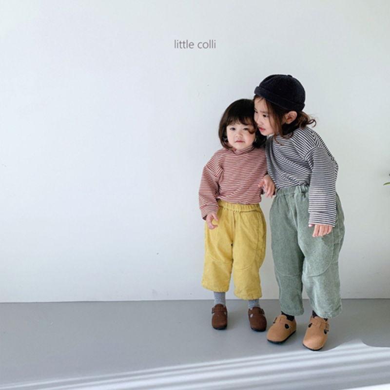 LITTLE COLLI - Korean Children Fashion - #Kfashion4kids - Vivi Corduroy Pants - 5