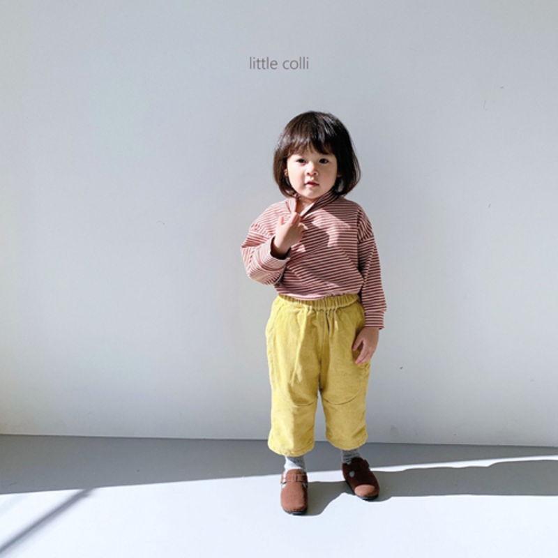 LITTLE COLLI - Korean Children Fashion - #Kfashion4kids - Vivi Corduroy Pants - 6