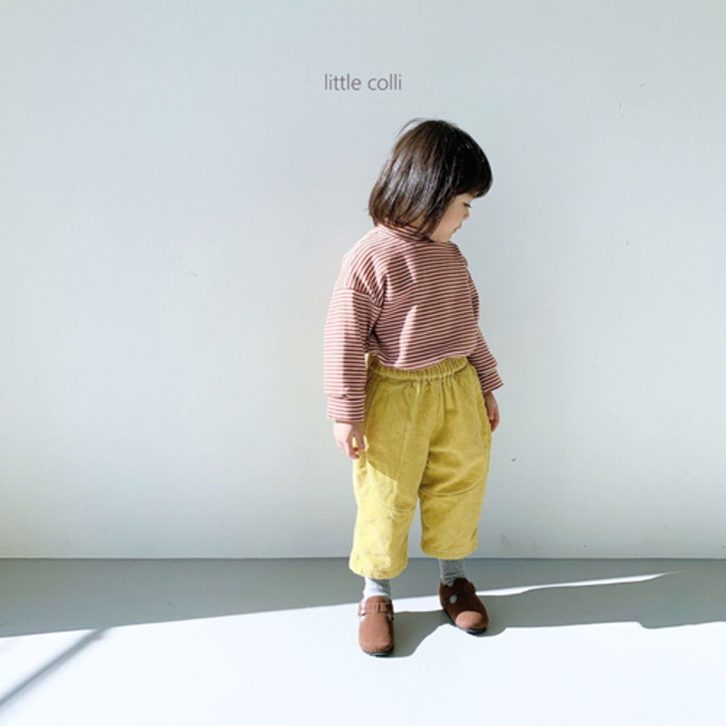 LITTLE COLLI - Korean Children Fashion - #Kfashion4kids - Vivi Corduroy Pants - 7
