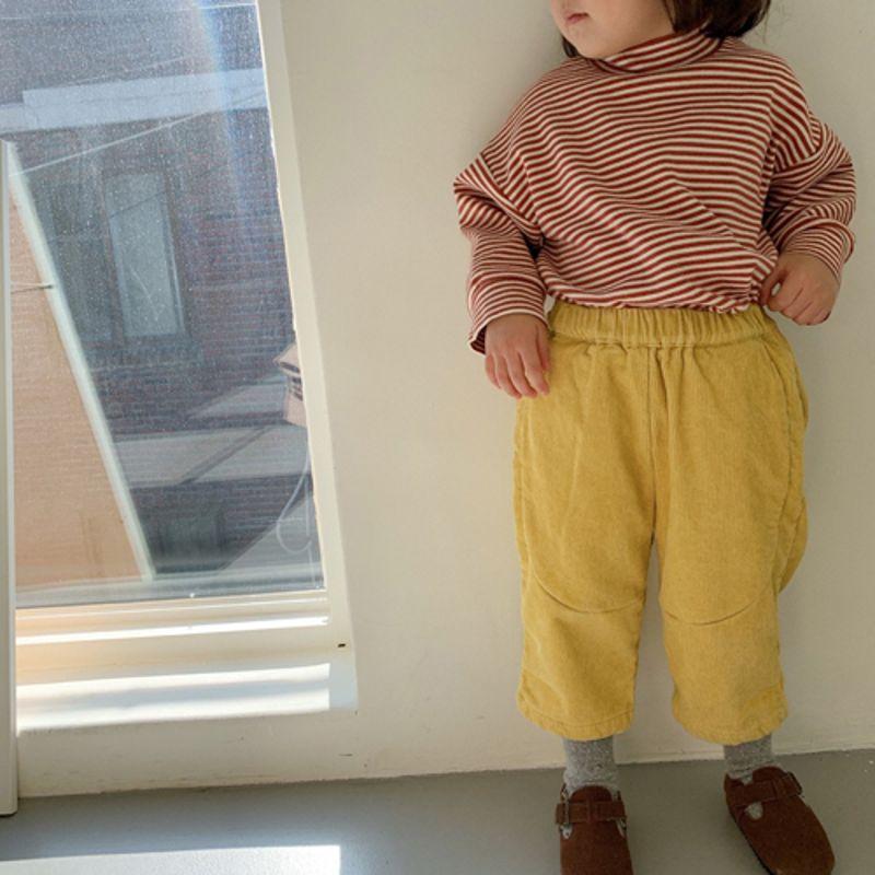 LITTLE COLLI - Korean Children Fashion - #Kfashion4kids - Vivi Corduroy Pants - 8