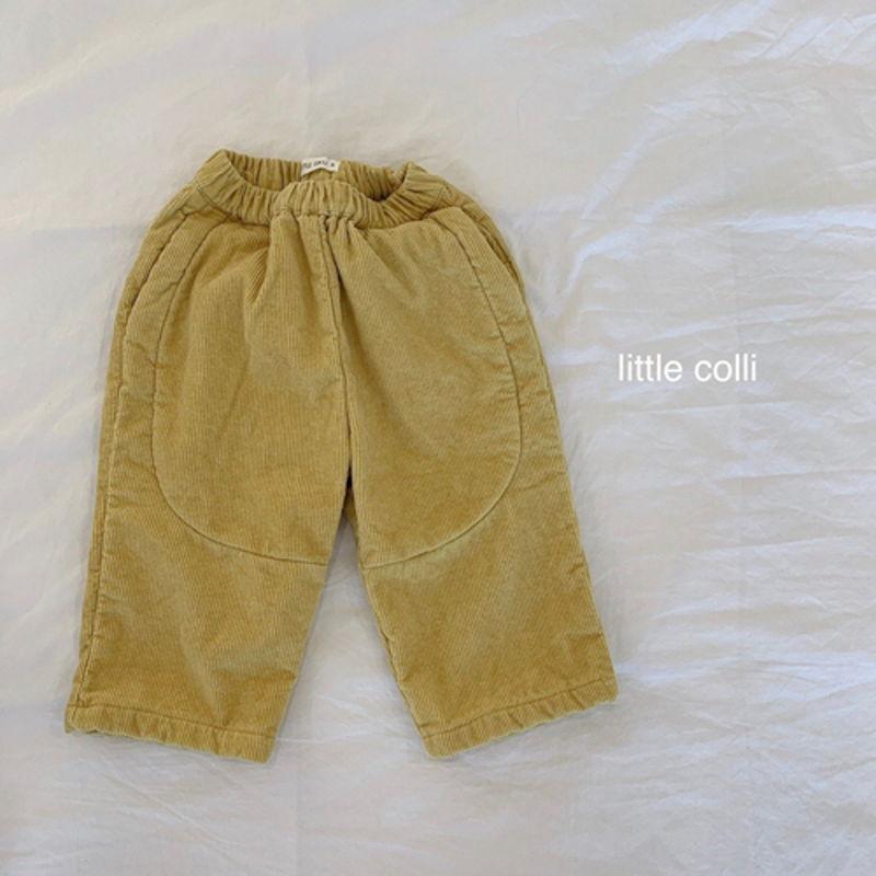 LITTLE COLLI - Korean Children Fashion - #Kfashion4kids - Vivi Corduroy Pants - 9