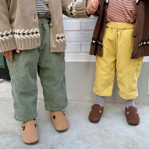 LITTLE COLLI - BRAND - Korean Children Fashion - #Kfashion4kids - Vivi Corduroy Pants