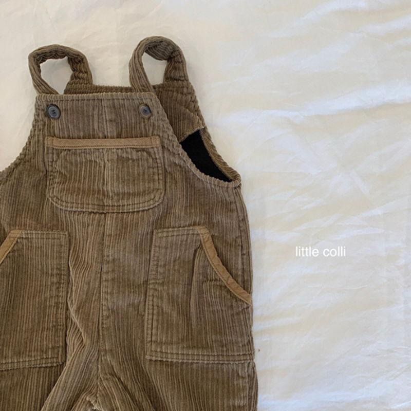 LITTLE COLLI - Korean Children Fashion - #Kfashion4kids - Kangaroo Suspender Jumpsuit - 10