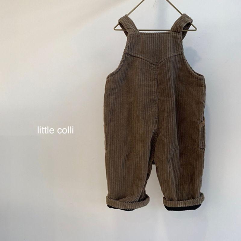 LITTLE COLLI - Korean Children Fashion - #Kfashion4kids - Kangaroo Suspender Jumpsuit - 12