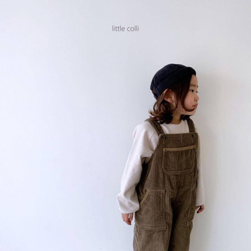 LITTLE COLLI - Korean Children Fashion - #Kfashion4kids - Kangaroo Suspender Jumpsuit - 3