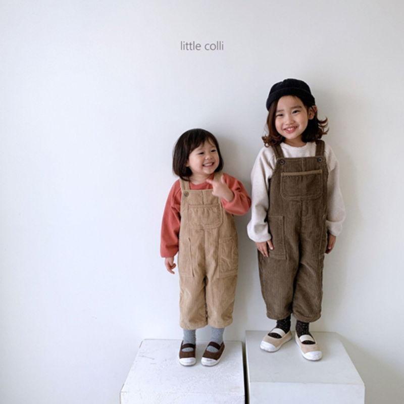 LITTLE COLLI - Korean Children Fashion - #Kfashion4kids - Kangaroo Suspender Jumpsuit - 8