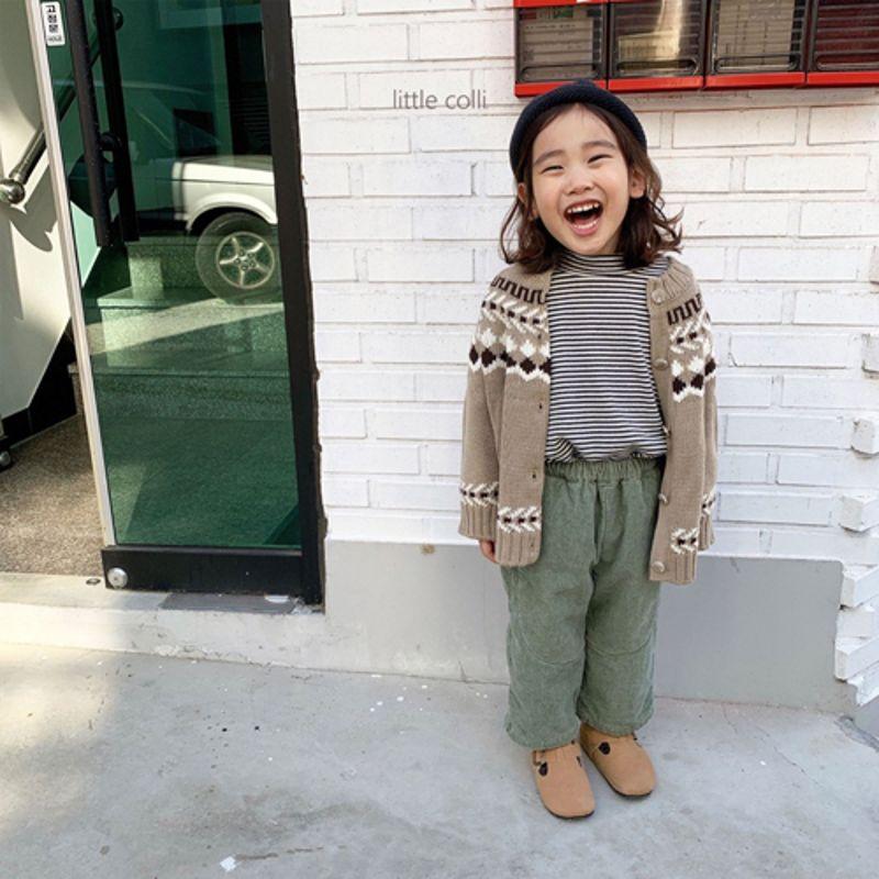 LITTLE COLLI - Korean Children Fashion - #Kfashion4kids - Nordic Cardigan - 10