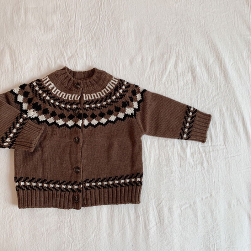 LITTLE COLLI - Korean Children Fashion - #Kfashion4kids - Nordic Cardigan - 12