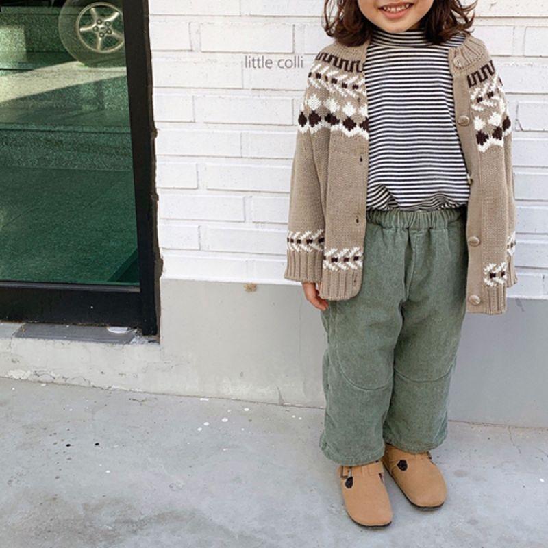 LITTLE COLLI - Korean Children Fashion - #Kfashion4kids - Nordic Cardigan - 4