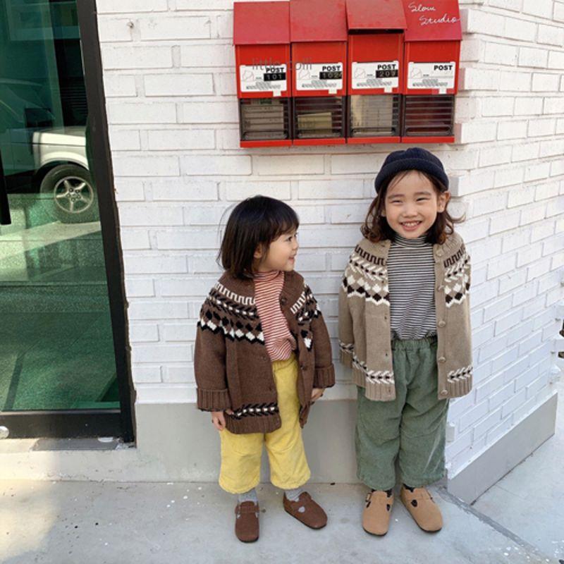 LITTLE COLLI - Korean Children Fashion - #Kfashion4kids - Nordic Cardigan - 5