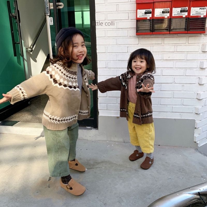 LITTLE COLLI - Korean Children Fashion - #Kfashion4kids - Nordic Cardigan - 6