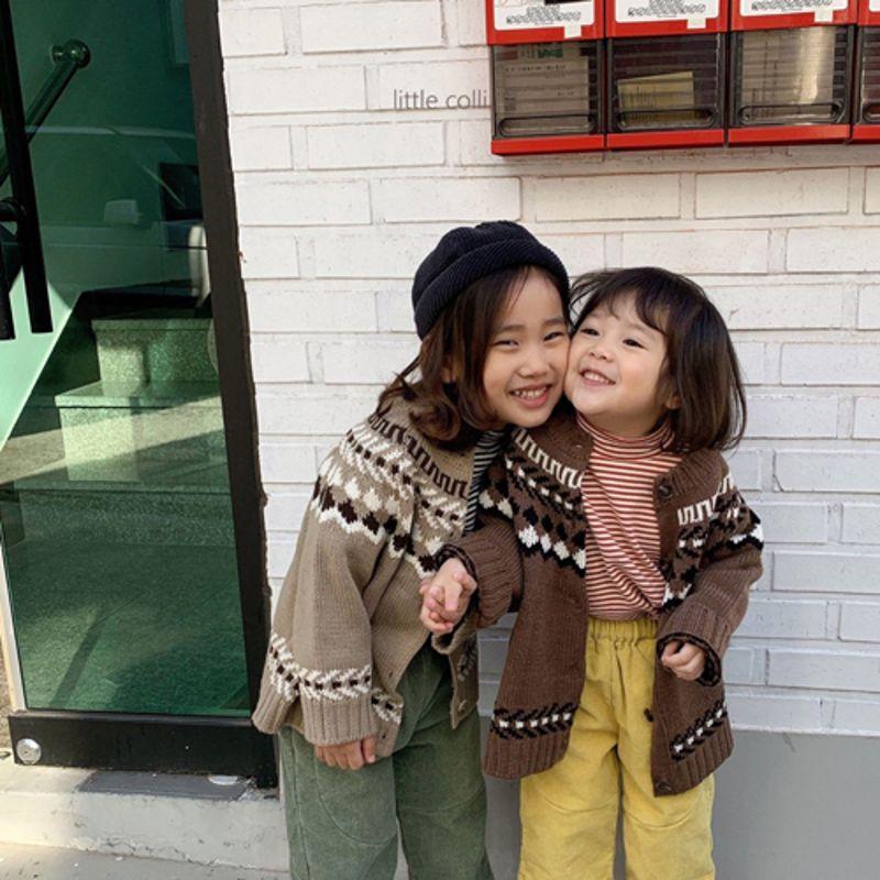 LITTLE COLLI - Korean Children Fashion - #Kfashion4kids - Nordic Cardigan - 7