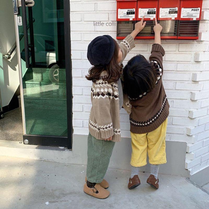 LITTLE COLLI - Korean Children Fashion - #Kfashion4kids - Nordic Cardigan - 8
