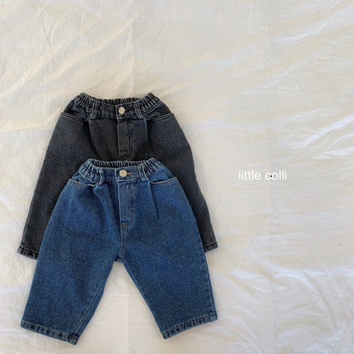 LITTLE COLLI - BRAND - Korean Children Fashion - #Kfashion4kids - Fleece Pintuck A