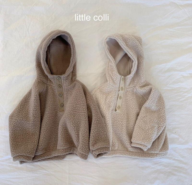 LITTLE COLLI - Korean Children Fashion - #Kfashion4kids - Dumble Button Anorak