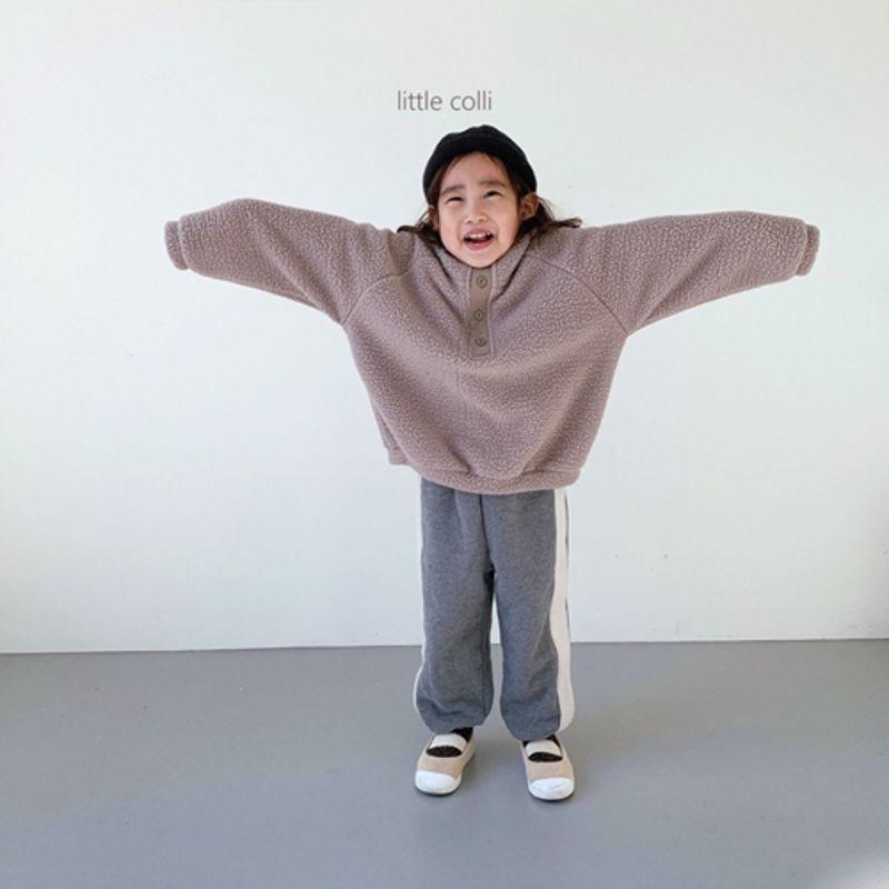 LITTLE COLLI - Korean Children Fashion - #Kfashion4kids - Dumble Button Anorak - 10