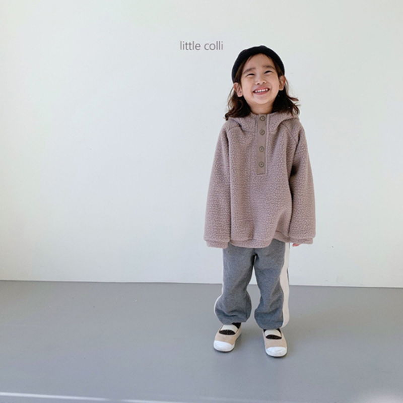 LITTLE COLLI - Korean Children Fashion - #Kfashion4kids - Dumble Button Anorak - 11