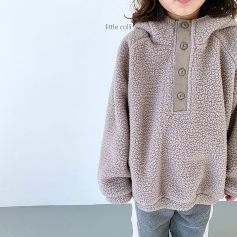 LITTLE COLLI - Korean Children Fashion - #Kfashion4kids - Dumble Button Anorak - 12