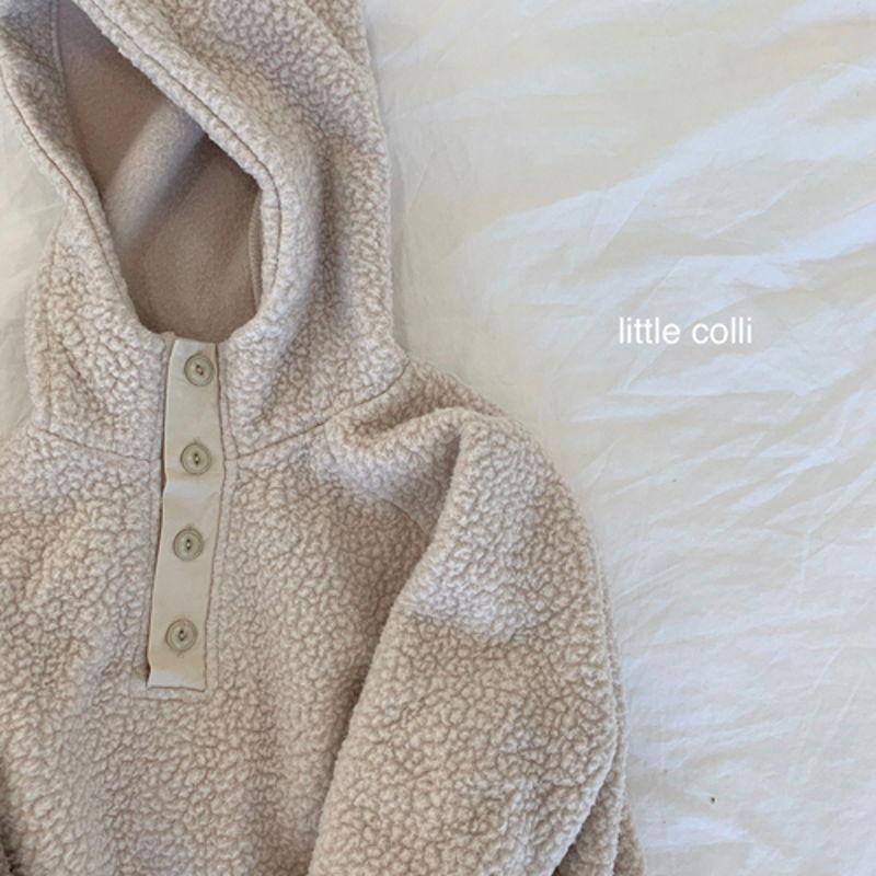 LITTLE COLLI - Korean Children Fashion - #Kfashion4kids - Dumble Button Anorak - 2