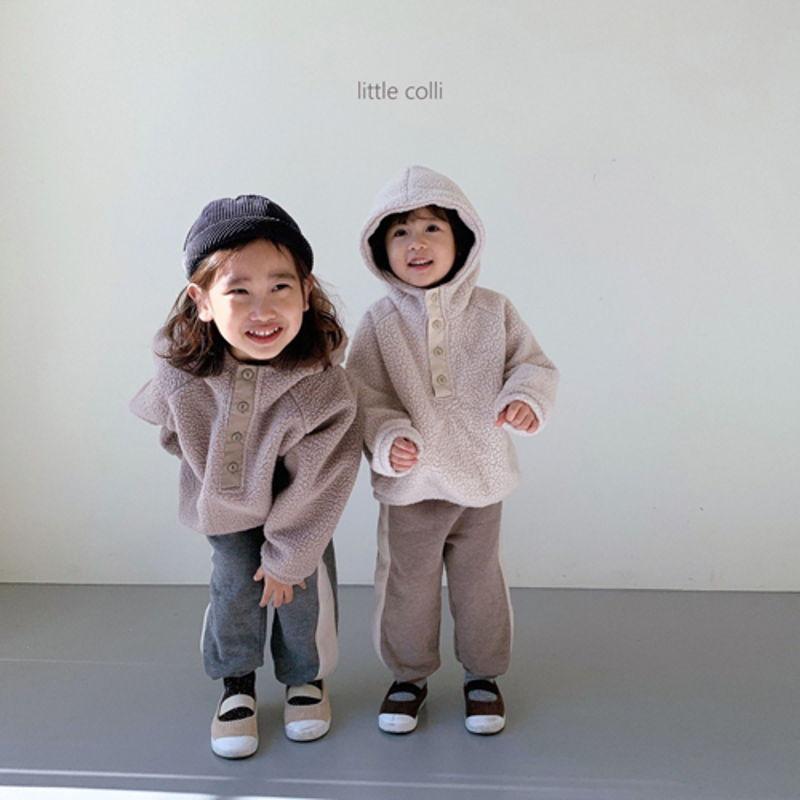 LITTLE COLLI - Korean Children Fashion - #Kfashion4kids - Dumble Button Anorak - 4