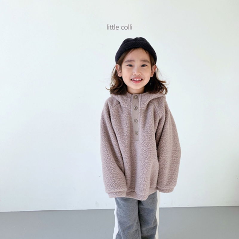 LITTLE COLLI - Korean Children Fashion - #Kfashion4kids - Dumble Button Anorak - 5