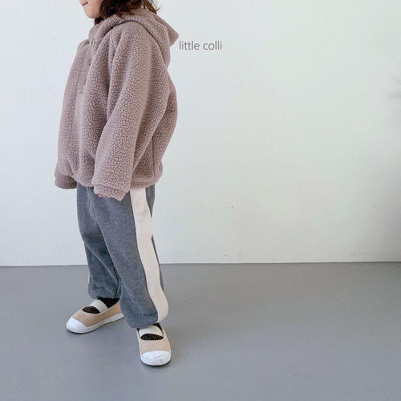LITTLE COLLI - Korean Children Fashion - #Kfashion4kids - Dumble Button Anorak - 6