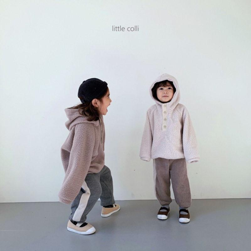 LITTLE COLLI - Korean Children Fashion - #Kfashion4kids - Dumble Button Anorak - 9