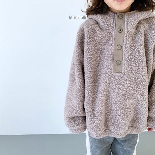 LITTLE COLLI - BRAND - Korean Children Fashion - #Kfashion4kids - Dumble Button Anorak