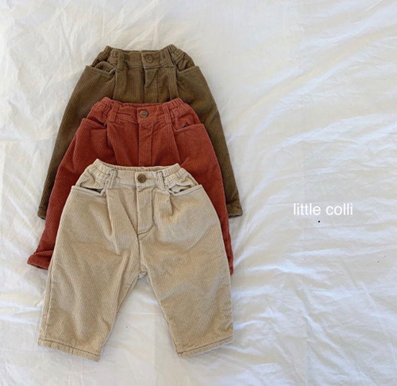 LITTLE COLLI - Korean Children Fashion - #Kfashion4kids - Winter Pintuck Pants