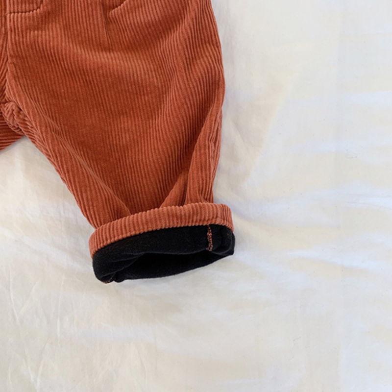 LITTLE COLLI - Korean Children Fashion - #Kfashion4kids - Winter Pintuck Pants - 7