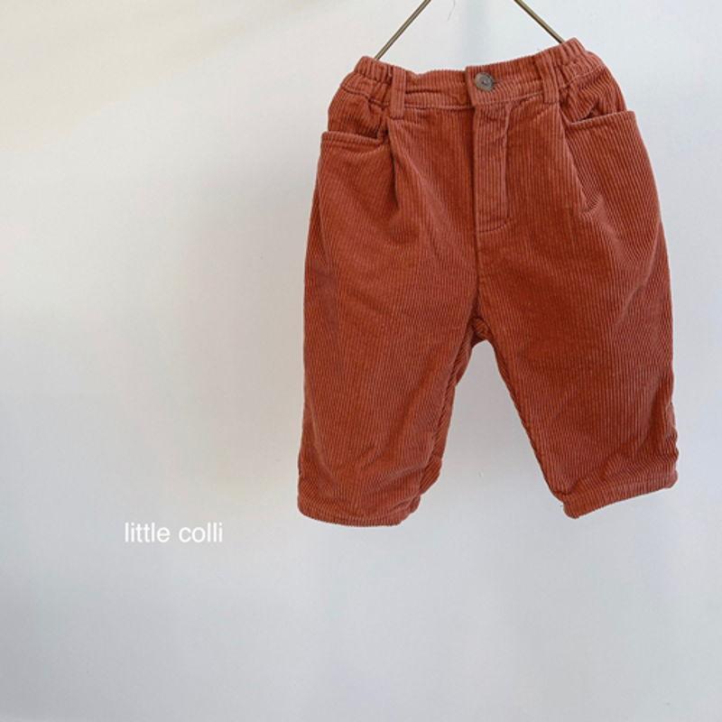 LITTLE COLLI - Korean Children Fashion - #Kfashion4kids - Winter Pintuck Pants - 8