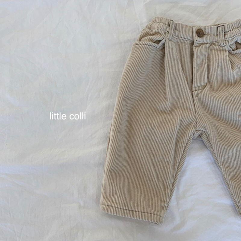 LITTLE COLLI - Korean Children Fashion - #Kfashion4kids - Winter Pintuck Pants - 9