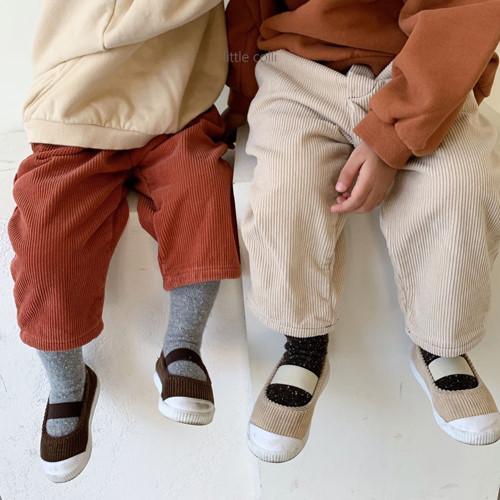 LITTLE COLLI - BRAND - Korean Children Fashion - #Kfashion4kids - Winter Pintuck Pants