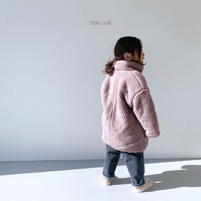 LITTLE COLLI - Korean Children Fashion - #Kfashion4kids - Bear Button Coat - 3