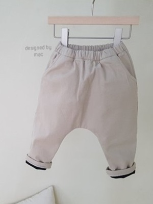 MAC - BRAND - Korean Children Fashion - #Kfashion4kids - Cotton Bonding Pants