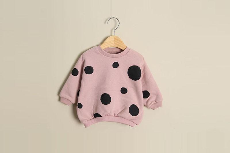 MAC - BRAND - Korean Children Fashion - #Kfashion4kids - Bebe Dot MTM
