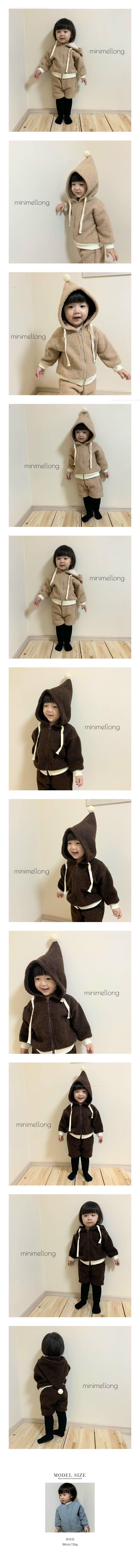 MINIMELLONG - Korean Children Fashion - #Kfashion4kids - Pompom Dumble Top Bottom Set