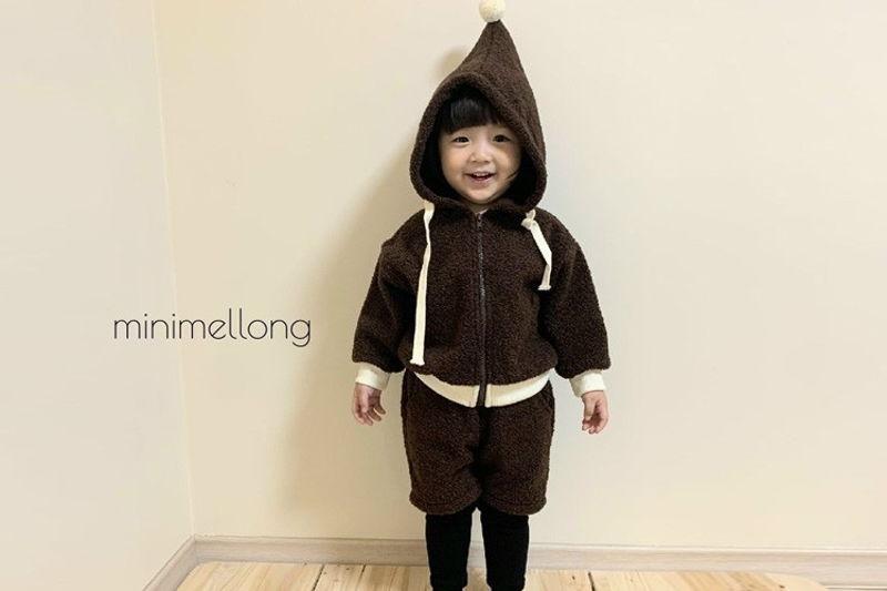 MINIMELLONG - BRAND - Korean Children Fashion - #Kfashion4kids - Pompom Dumble Top Bottom Set