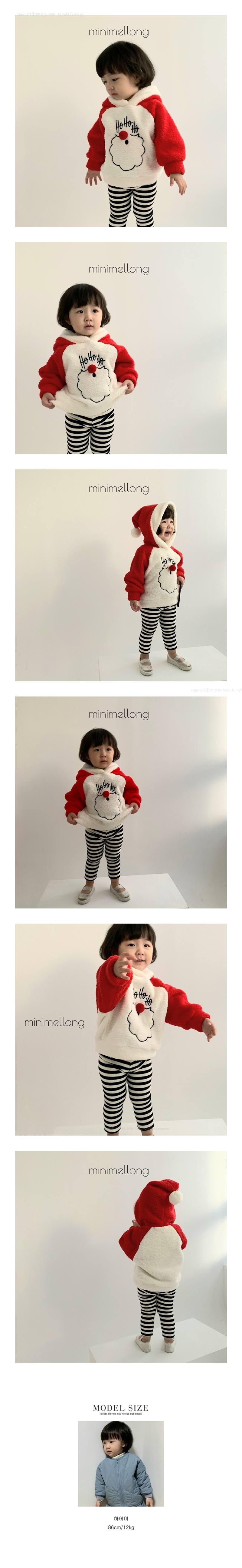 MINIMELLONG - Korean Children Fashion - #Kfashion4kids - Fleece Santa Hood MTM