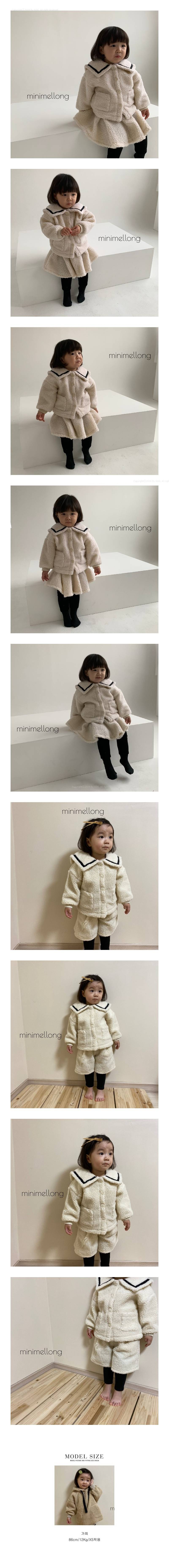 MINIMELLONG - Korean Children Fashion - #Kfashion4kids - Dumble Sailor Jacket