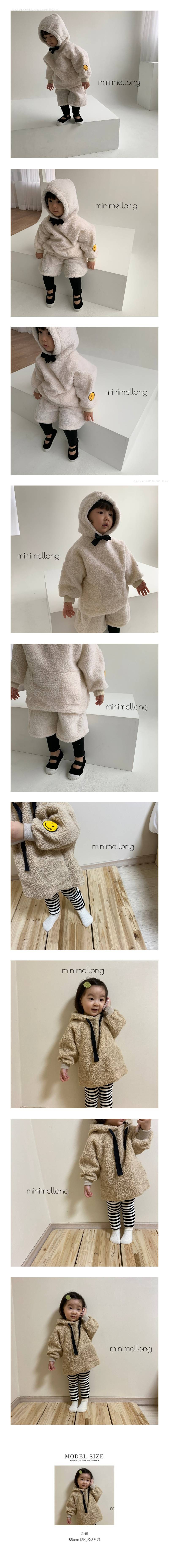 MINIMELLONG - Korean Children Fashion - #Kfashion4kids - Dumble Smile Hood Top