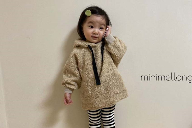 MINIMELLONG - BRAND - Korean Children Fashion - #Kfashion4kids - Dumble Smile Hood Top