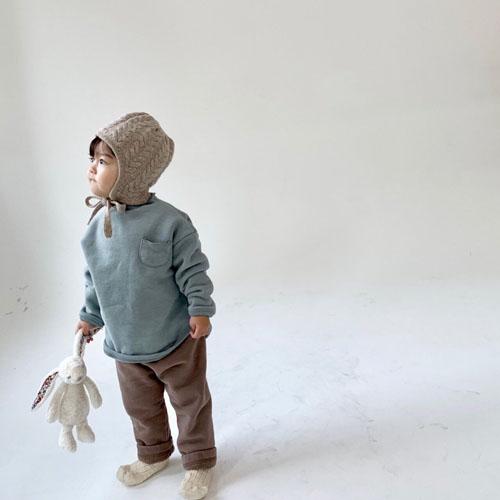 MONBEBE - Korean Children Fashion - #Kfashion4kids - Fleece Button Pants - 10