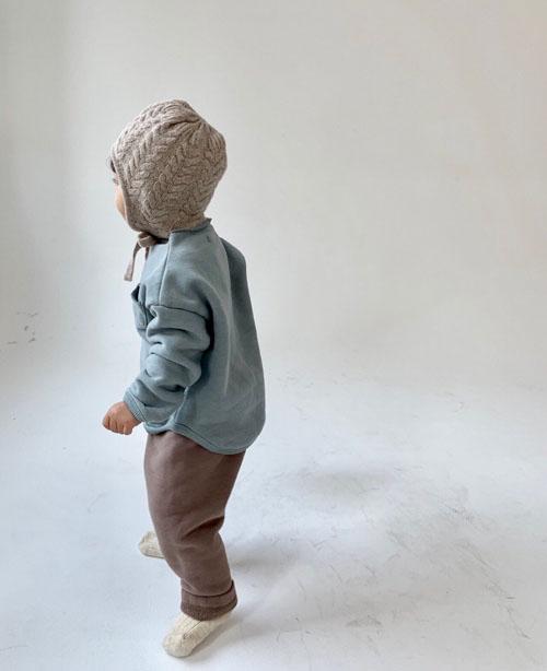 MONBEBE - Korean Children Fashion - #Kfashion4kids - Fleece Button Pants - 9