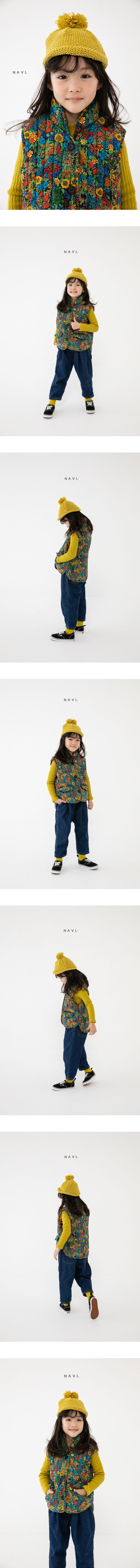 NAVI - Korean Children Fashion - #Kfashion4kids - Line Padding Vest