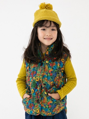 NAVI - BRAND - Korean Children Fashion - #Kfashion4kids - Line Padding Vest