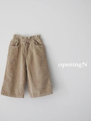 OPENING & - BRAND - Korean Children Fashion - #Kfashion4kids - 8 Corduory Pants